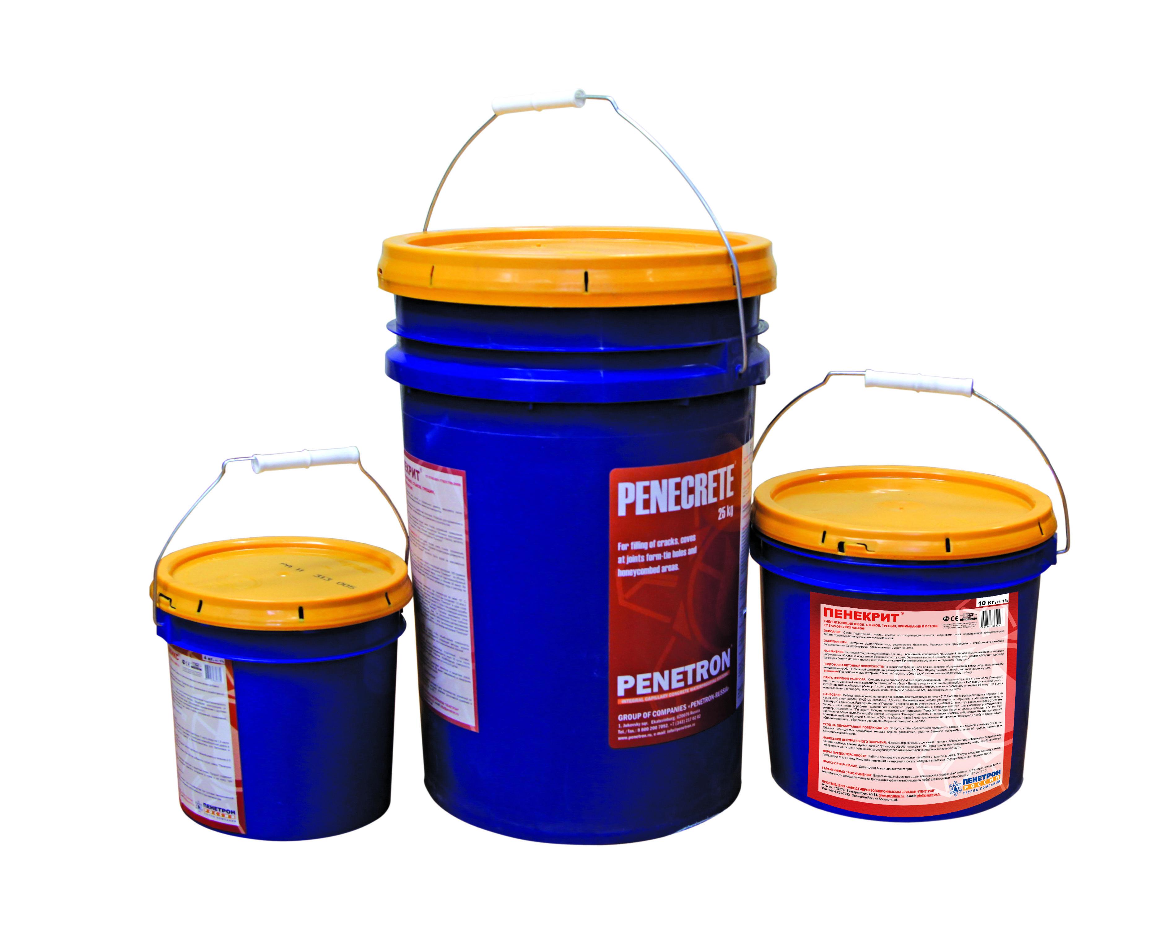 Смесь пенетрон пенекрит для гидроизоляция швов 10 кг полиуретановый герметик пу-15